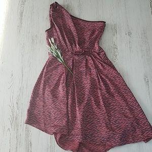 🆕️ Rachel Roy High Low One Shoulder Dress